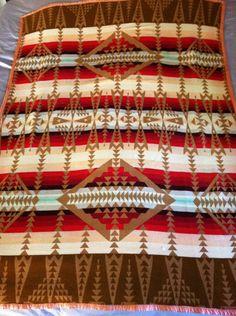 Vintage 1930's Pendelton Cabin Blanket | eBay