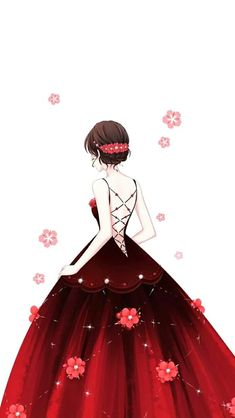 This beautiful thing👅❤👈woahh! Fashion Drawing Dresses, Fashion Illustration Dresses, Illustration Girl, Pretty Anime Girl, Beautiful Anime Girl, Anime Art Girl, Lovely Girl Image, Cute Girl Wallpaper, Dress Drawing