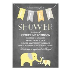 glam faux gold modern baby shower invitations | mom and kids, Baby shower invitations