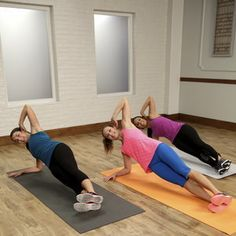 Flat-Belly Workout   30-Minute Video