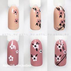 Make an original manicure for Valentine's Day - My Nails Nail Art Hacks, Nail Art Diy, Easy Nail Art, Diy Nails, Cute Nails, Pretty Nails, Manicure, Nail Art Designs Videos, Nail Art Videos
