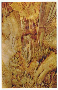 Postcards - United States # 375 - Mammoth Cave National Park, Kentucky