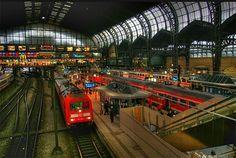 Hamburg railway station