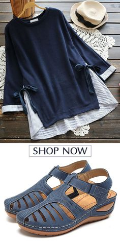Women Fashion - Styles I like Women Fashion 2019 Spring trends for women long sleeve T-shirt, plus size and colors you can options. Shop now! Fashion Now, Womens Fashion For Work, Plus Size Fashion, Fashion Women, Fashion Styles, Fashion Wear, Fashion Design, Outfits Casual, Mode Outfits