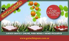 Juegos didácticos en línea para niños de 2, 3 y 4 años. En español. #Didácticos #Niños #Juegos