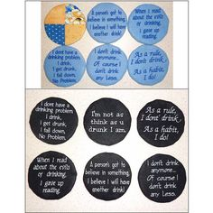 """""""Patchwork Wine Coasters 1"""" Quick and fun to stitch, you'll love the sassy sayings on these fun #MachineEmbroidery coasters for your home, or why not gift to your favorite hostess! Stitch these today and use them tonight! Custom Embroidery, Embroidery Thread, Machine Embroidery Designs, Sassy Sayings, Sassy Quotes, Wine Coaster, Getting Drunk, Free Design, Coasters"""