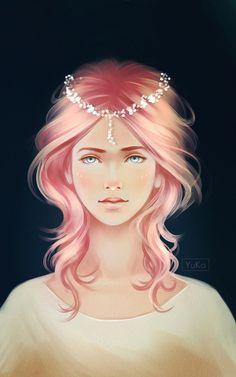 Sad bride by Yu-koi.deviantart.com on @DeviantArt