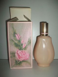AVON SPRAY OF  ROSES COLOGNE   87 MLS VINTAGE PINK BOTTLE  DISCONTINUED