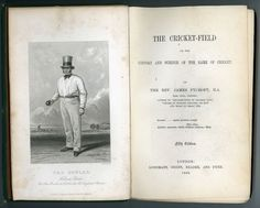 1868 - The Cricket-Field. By James Pycroft. in Books, Comics & Magazines, Antiquarian & Collectable | eBay