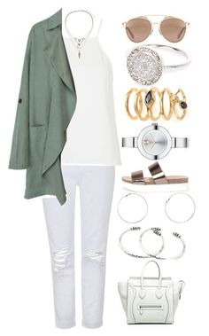 """""""///"""" by lunaashton ❤ liked on Polyvore featuring Topshop, River Island, Wanted, Eddie Borgo, Christian Dior, Movado, Dorothy Perkins, NOVICA and CÉLINE"""