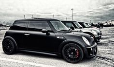 Mini Cooper JCW #mini (Had one of the first Works minis just like this but magnesium wheels - FUNFUN )