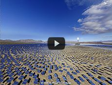 World's largest Solar Power Plant, CA, US Awesome!