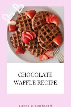Delicious protein waffle recipe Gluten Free Recipes For Dinner, Gluten Free Breakfasts, Fun Recipes, Brunch Recipes, Delicious Recipes, Keto Recipes, Paleo Dessert, Dessert Recipes, Desserts