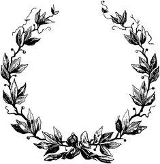 Vintage Banner, Vintage Wreath, Bow Clipart, Frame Clipart, Vintage Frames, Vintage Prints, Wreath Drawing, Bow Drawing, Laurel Wreath