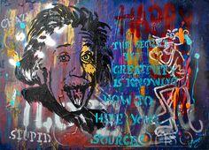 The Secret (2012), 70 x 100 cm, Mixed Media auf Leinwand