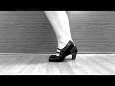 Flamenco Footwork Planta Tacón Tacón Combination Flamenco Dance - YouTube