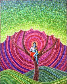 Lord Shiva as adiyogi in creative art painting Mandala Painting, Mandala Art, Dot Painting, Mandala Design, Morning Pictures, Good Morning Images, Om Namah Shivaya Mantra, Angry Lord Shiva, Trishul