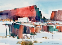 A town starts up in Arizona. Sterling Edwards