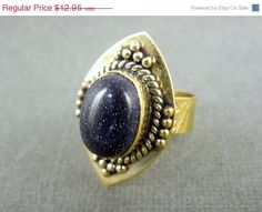 20 off New Year Sale Tibetan Style Brass Ring Tibetan by Magicloot, $10.36