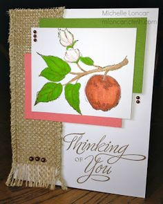 Show and Tell, with Michelle: July Stamp of the Month Blog Hop