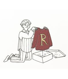 Paulina Bas - I don't remember if Ron's mum ever gave Hermione a...
