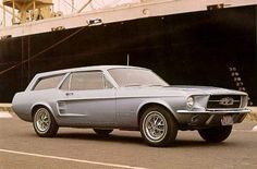 '67 Ford Mustang Pony Wagon