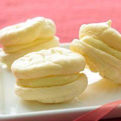 Lemon Meringue Sandwich Cookies
