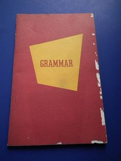 Fundamentals of Grammar by William Leahy 1972 Edition Kenneth Publishing Company