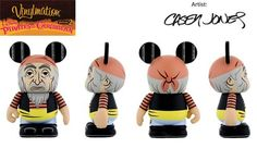 """Pirates of the Caribbean Series 2 Jailed Pirate Disney Vinylmation 3"""" inch Figure"""
