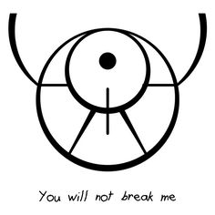 "Sigil Athenaeum - ""You will not break me"" sigil requested by..."