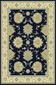 Verona Navy Ushak Rug Rug Size: 6'7 x 9'6 Size & Shape: 6'7 x 9'6. Material: Heatset Polypropylene. Weave: Machine Made. Color: Navy. Free Shipping, No Tax.  #Rugs_America #Home