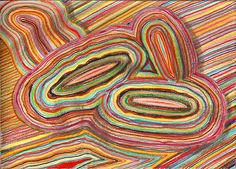 """three islands"", drawing on paper, 21 x 15 cm, ©matthias hennig 2013 #drawing #artwork #matthias #hennig #color www.matthiashennig.de"