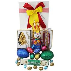 Easter eggs galore hamper 109 aud free delivery easter gift delightful easter basket 85 aud free delivery negle Choice Image
