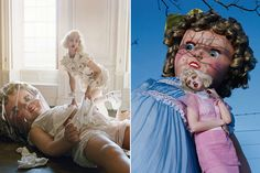 Dollface // Just a creepy, hair raising editorial by the ever so talented and imaginative Tim Walker to wish you all a happy Halloween!
