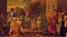 THE ENTRY OF CHRIST INTO JERUSALEM. oil on canvas. 98 × 134 cm. Provenance : bequeathed to the museum in 1886 by the Baroness Jankowitz. Bibliografia : Blunt 77; Thuilllier B27.