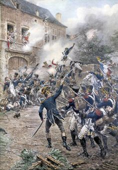 The Battle of Waterloo on June the battle that ended the dominance of the French Emperor Napoleon over Europe; Waterloo 1815, Battle Of Waterloo, French History, European History, Ancient History, Military Art, Military History, Military Uniforms, Schlacht Von Waterloo