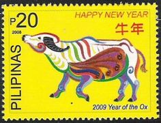 Philippine Stamp 2009 - Year of the Ox