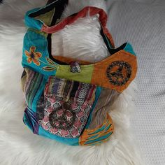 Hippy Boho Hobo Handbag Purse Peace – Purses And Handbags Boho Hobo Handbags, Purses And Handbags, Mk Bags, Hippie Boho, Most Beautiful Pictures, Shoulder Bag, Hippy, Peace, Products