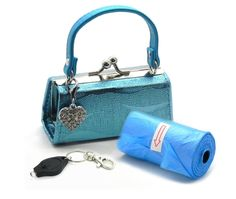 Poo Bags with Purse Dispenser - Glitter -- See this great product. (This is an affiliate link and I receive a commission for the sales)