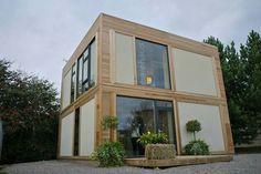 BaleHaus: la casa in calce, canapa e paglia che resiste agli uragani