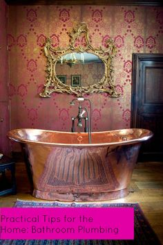 Practical Tips for the Home: Bathroom Plumbing : The Ana Mum Diary