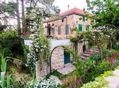 Blossoming mornings by Byblos Lebanon, Old House Design, House Viewing, Overseas Travel, Village Houses, Mountain Homes, Cafe Design, Traditional House, Architecture