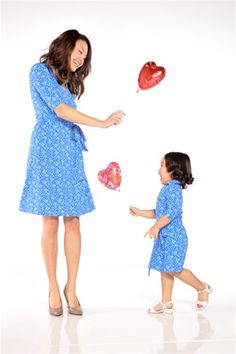 Matching mother and daughter pretty dress, perfect mother and daughter matching dresses for any occasion special events weddings family portraits or any given Sundays, mother and daughter matching wrap jersey dress, cute matching mom daughter dresses
