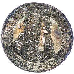 Taler 1690 Hall Silber, aus österreichischer Provenienz, = S E L T E N =