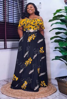 Ankara Long Gown Styles, Ankara Styles, Latest African Fashion Dresses, African Dresses For Women, Camisoles, Fashion Beauty, Gowns, Fashion Outfits, Fashion Design