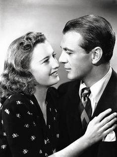 Barbara Stanwyck and Gary Cooper, 1941