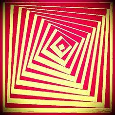 Classic optical illusion. My edit. J⊙L⊙Y Illusion Art Trippy Surrealism Psychic Medium The Impurist Darkart Light And Shadow Dream Psychedelic | EyeEm