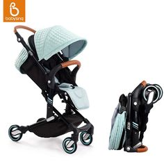279.99$ Watch here - http://aliof7.worldwells.pw/go.php?t=32758413091 - Babysing High Landscape Portable Lightweight Baby Strollers Foldable Baby Pram Pushchairs Kinderwagen Can Take to Plane I-GO 279.99$