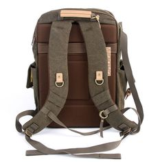 Canvas Bag Camera Backpack - Mens Laptop School Backpack - The ...