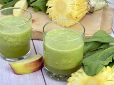 Spinach Spectacular, Spinach Apple and Pineapple Juice recipe, Healthy Juices Recipes Healthy Juice Recipes, Healthy Juices, Sources Of Carbohydrates, How To Make Spinach, Spinach Benefits, Spinach Juice, My Cookbook, Spinach Recipes, Pineapple Juice